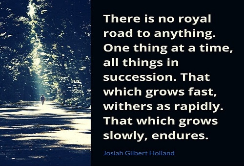 There is no royal road to anything.jpg